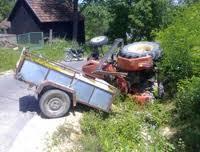 Traktor udes
