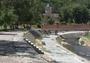 Vranjska Banja reka i mostic