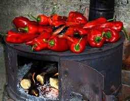 Ajvar etno pecenje paprike