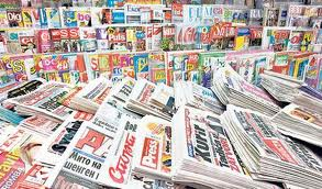 Novine na kiosku