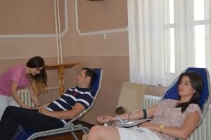 Akcija davanja krvi u GU Leskovac