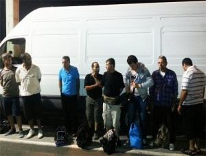Migranti uhvaceni